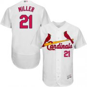 Wholesale Cheap Cardinals #21 Andrew Miller White Flexbase Authentic Collection Stitched MLB Jersey