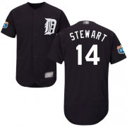 Wholesale Cheap Tigers #14 Christin Stewart Navy Blue Flexbase Authentic Collection Stitched MLB Jersey