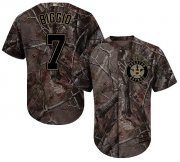 Wholesale Cheap Astros #7 Craig Biggio Camo Realtree Collection Cool Base Stitched MLB Jersey