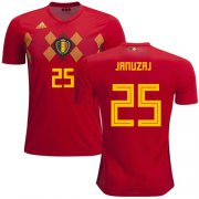Wholesale Cheap Belgium #25 Januzaj Red Soccer Country Jersey