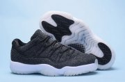 Wholesale Cheap Air Jordan 11 Low Wool Dark grey/White