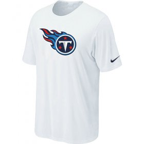 Wholesale Cheap Nike Tennessee Titans Sideline Legend Authentic Logo Dri-FIT NFL T-Shirt White
