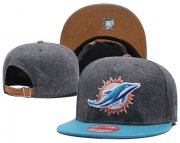 Wholesale Cheap NFL Miami Dolphins Team Logo Snapback Adjustable Hat