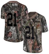 Wholesale Cheap Nike Cowboys #21 Ezekiel Elliott Camo Youth Stitched NFL Limited Rush Realtree Jersey