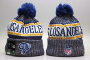 Wholesale Cheap Los Angeles Rams YP Beanie 1