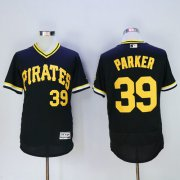 Wholesale Pirates #39 Dave Parker Black Flexbase Authentic Collection Cooperstown Stitched Baseball Jersey