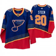 Wholesale Cheap St. Louis Blues #20 Alexander Steen 90s Vintage 2019-20 Authentic Royal NHL Jersey