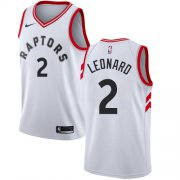 Wholesale Cheap Women's Nike Toronto Raptors #2 Kawhi Leonard White NBA Swingman Association Edition Jersey