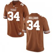 Wholesale Cheap Men's Texas Longhorns 34 Ricky Williams Orange Nike College Jersey