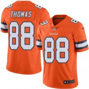 Wholesale Cheap Nike Broncos #88 Demaryius Thomas Orange Men's Stitched NFL Limited Rush Jersey