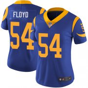 Wholesale Cheap Nike Rams #54 Leonard Floyd Royal Blue Alternate Women's Stitched NFL Vapor Untouchable Limited Jersey