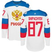 Wholesale Cheap Team Russia #87 Vadim Shipachyov White 2016 World Cup Stitched NHL Jersey