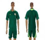 Wholesale Cheap Senegal Blank 2012/2013 Green Away Soccer Country Jersey