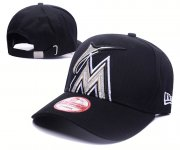 Wholesale Cheap Mariners Fresh Logo Black Shine Adjustable Hat GS