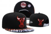 Wholesale Cheap NBA Chicago Bulls Snapback Ajustable Cap Hat DF 03-13_27