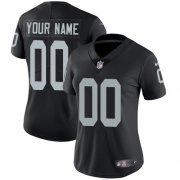 Wholesale Cheap Nike Las Vegas Raiders Customized Black Team Color Stitched Vapor Untouchable Limited Women's NFL Jersey