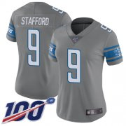 Wholesale Nike Lions #76 T.J. Lang Royal Women's Stitched NFL Limited NFC 2018 Pro Bowl Jersey