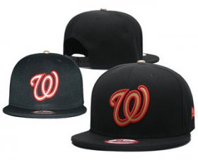 Wholesale Cheap Washington Nationals Snapback Ajustable Cap Hat 9