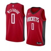 Wholesale Cheap Rockets #0 Russell Westbrook Red Basketball Swingman Icon Edition 2019-2020 Jersey
