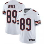 Wholesale Cheap Nike Bears #89 Mike Ditka White Men's Stitched NFL Vapor Untouchable Limited Jersey