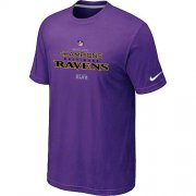Wholesale Cheap Men's Nike Baltimore Ravens 2012 AFC Conference Champions Trophy Collection Long T-Shirt Purple