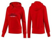 Wholesale Cheap Women's Arizona Cardinals Heart & Soul Pullover Hoodie Red