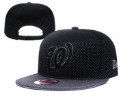 Wholesale Cheap MLB Washington Nationals Snapback Ajustable Cap Hat 1