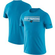 Wholesale Cheap Carolina Panthers Nike Sideline Local Performance T-Shirt Blue