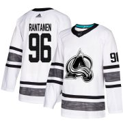 Wholesale Cheap Adidas Avalanche #96 Mikko Rantanen White Authentic 2019 All-Star Stitched Youth NHL Jersey