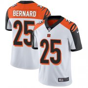 Wholesale Cheap Nike Bengals #25 Giovani Bernard White Men's Stitched NFL Vapor Untouchable Limited Jersey