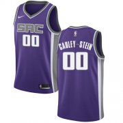 Wholesale Cheap Women's Sacramento Kings #00 Willie Cauley-Stein Purple Basketball Swingman Icon Edition Jersey