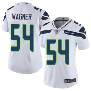 Wholesale Cheap Nike Seahawks #54 Bobby Wagner White Women's Stitched NFL Vapor Untouchable Limited Jersey
