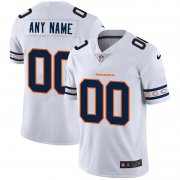 Wholesale Cheap Chicago Bears Custom Nike White Team Logo Vapor Limited NFL Jersey