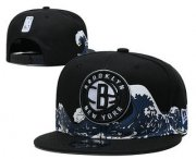 Wholesale Cheap Brooklyn Nets Snapback Ajustable Cap Hat YD