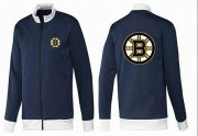 Wholesale Cheap NHL Boston Bruins Zip Jackets Dark Blue-1