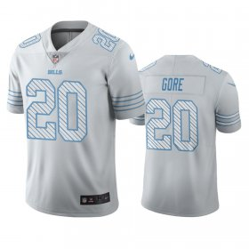 Wholesale Cheap Buffalo Bills #20 Frank Gore White Vapor Limited City Edition NFL Jersey