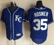 Wholesale Royals #35 Eric Hosmer Royal Blue Flexbase Authentic Collection Stitched Baseball Jersey