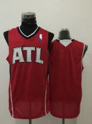 Wholesale Cheap Men's Atlanta Hawks Blank Red Swingman Jersey