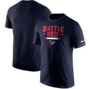 Wholesale Cheap Houston Texans Nike Local Verbiage T-Shirt Navy