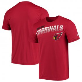 Wholesale Cheap Arizona Cardinals Nike Sideline Line of Scrimmage Legend Performance T-Shirt Cardinal