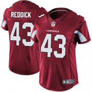 Wholesale Cheap Nike Cardinals #43 Haason Reddick Red Team Color Women's Stitched NFL Vapor Untouchable Limited Jersey