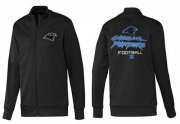 Wholesale Cheap NFL Carolina Panthers Victory Jacket Black