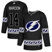 Cheap Adidas Lightning #14 Pat Maroon Black Authentic Team Logo Fashion Stitched NHL Jersey