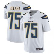 Wholesale Cheap Nike Chargers #75 Bryan Bulaga White Youth Stitched NFL Vapor Untouchable Limited Jersey