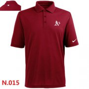 Wholesale Cheap Nike Oakland Athletics 2014 Players Performance Polo Red