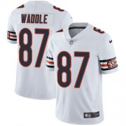 Wholesale Cheap Nike Bears #87 Tom Waddle White Men's Stitched NFL Vapor Untouchable Limited Jersey