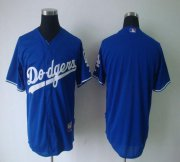 Wholesale Cheap Dodgers Blank Blue Cool Base Stitched MLB Jersey