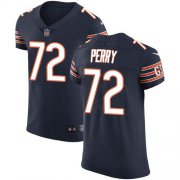 Wholesale Cheap Nike Bears #72 William Perry Navy Blue Team Color Men's Stitched NFL Vapor Untouchable Elite Jersey