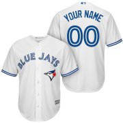Wholesale Cheap Toronto Blue Jays Majestic Cool Base Custom Jersey White