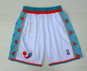 Wholesale Cheap 1996 All-Star White Hardwood Classics Swingman Shorts